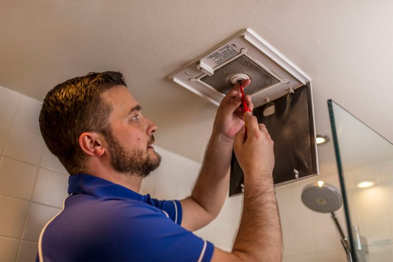 Bathroom extractor fan installation and repairs