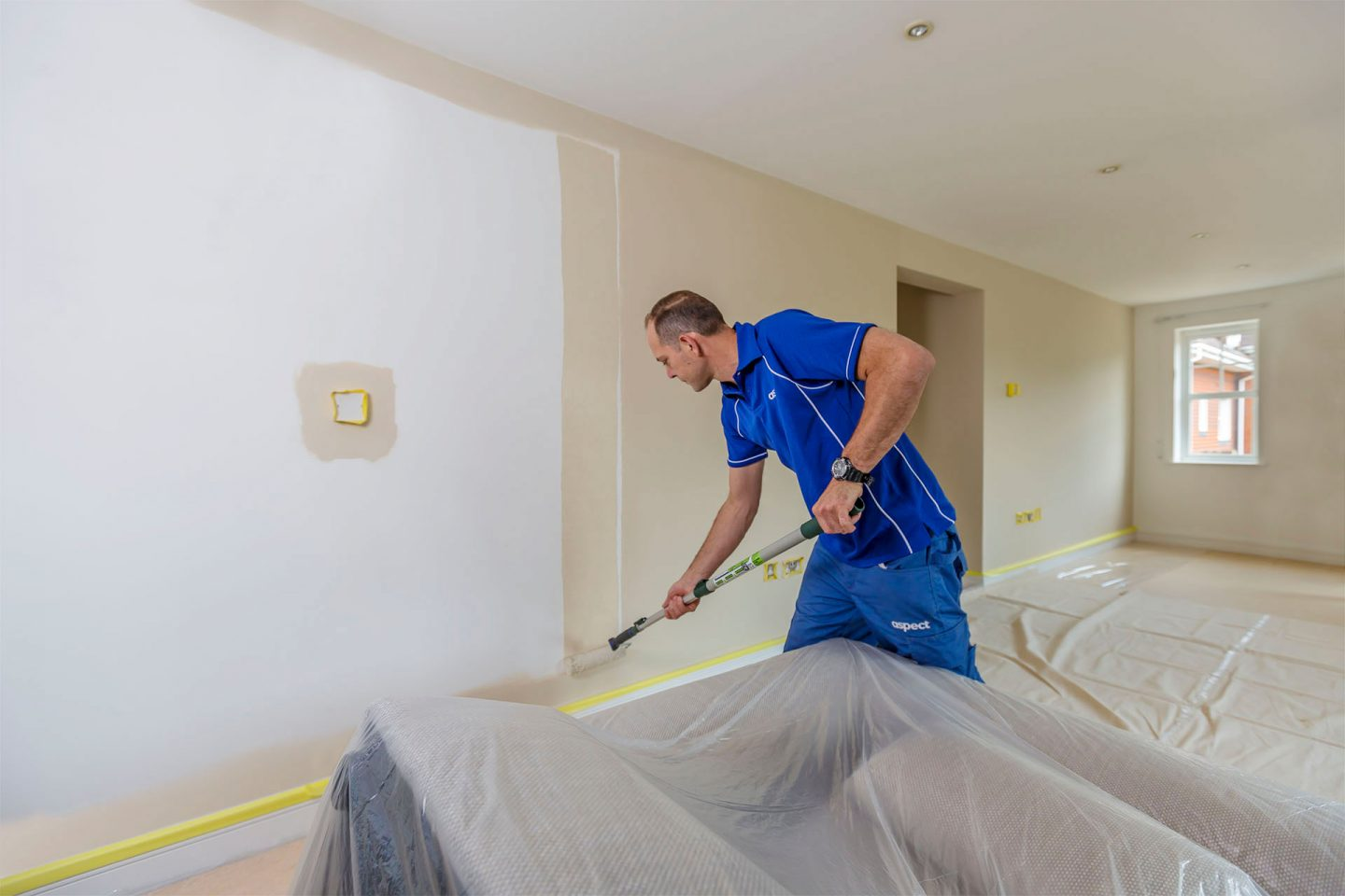 Interior painting and decorating services