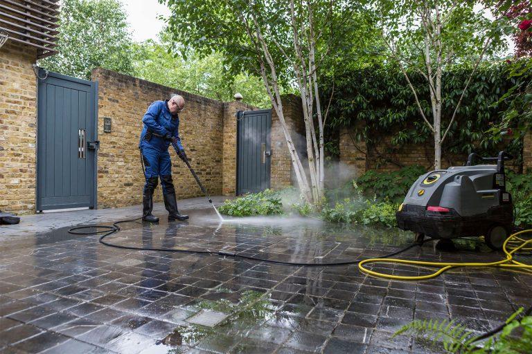Gardening pressure washing