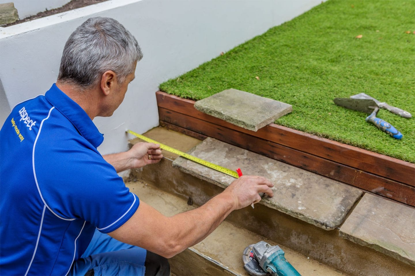 Path and patio repair service
